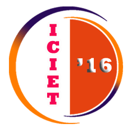 International Conference on Innovations in Engineering and Technology (ICIET - 2016)